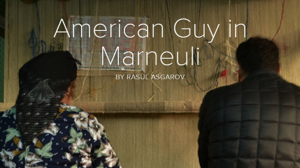 """American Guy in Marneuli"""